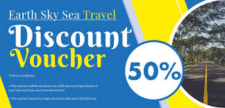 discount travel images Free travel and trip discount voucher template in adobe photoshop jpg