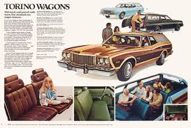 Old Ford Truck Brochures - 1975 ford wagons brochure