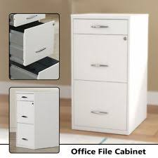 3 Drawer Filing Cabinet White 3 Drawer File Cabinet Ebay