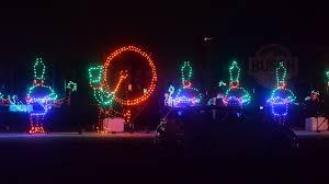 Light The Night Portland Photos Christmas Lights Brighten The Night At Auto Club Speedway