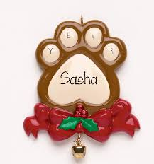dog ornament my personalized ornaments