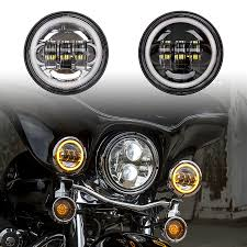 led driving passing lights with turnsignal halo