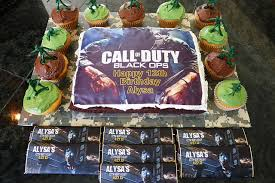 call of duty birthday cake call of duty birthday party theme ideas supplies