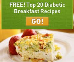 breakfast menu for diabetics free diabetic breakfast recipes