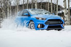 lexus hybrid in snow 2016 ford focus rs to offer factory winter tire package