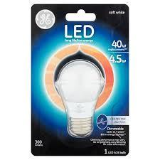ge led 4 5w 40w equivalent soft white ceiling fan bulb walmart com
