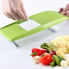 Potato Storage Container Kitchen Review Mandoline Slicer Manual Vegetable Cutter With 5 Blades