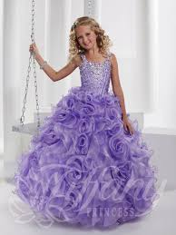 pageant dress 13342 size 8 white and 12 lilac
