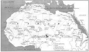 Sahara Desert On World Map by The Trans Saharan Book Trade Eric Ross Academic