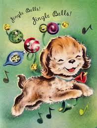 292 best old fashioned christmas cards dogs images on pinterest