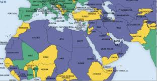 middle east map with countries middle east seen from freedom house middle east strategy at harvard
