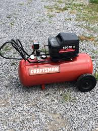 find more like new craftsman 3hp 15 gal air compressor for sale at