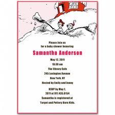 dr seuss baby shower invitations seuss baby girl shower invitations bs100