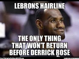Derrick Rose Meme - the only thing that will not return before derrick rose daily snark