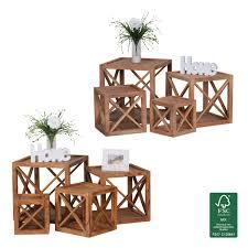 beistelltische landhaus massivholz couchtische und andere couchtische von finebuy online