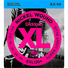 light electric guitar strings d addario exl120 nickel super light electric guitar strings