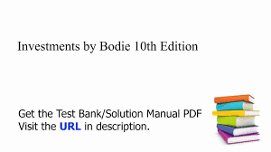 practice test bank for investments by bodie 10th edition youtube