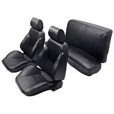67 Mustang Black Procar 80 65026651 Mustang Interior Kit Rally Seats Cp 1965 67