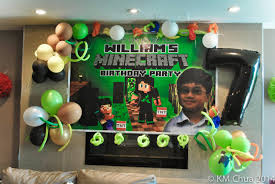minecraft party supplies treasured ents william s 7th minecraft party