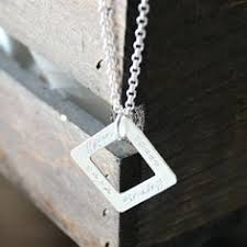 Personalized Sterling Silver Necklace This Personalized Mixed Metals Men U0027s Necklace Includes One Secret