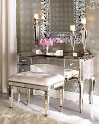 bedroom vanity sets rhianna bedroom vanity set in platinum pulaski home gallery