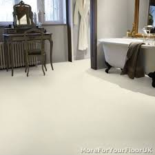 plain white vinyl flooring kitchen bathroom lino 3m ebay