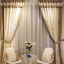 Cotton Drapes Country Home Cotton Linen And Poly Fabrics Shabby Chic Curtains