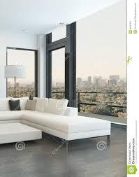 meubles modernes design intérieur blanc de luxe de salon avec les meubles modernes image
