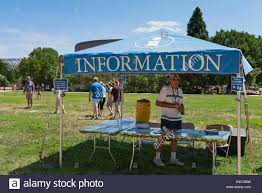 information tent at the smithsonian folklife festival washington
