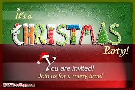 christmas invitation free invitations ecards greeting cards