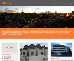 cubo property group website design and development