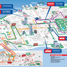 map of new york city with tourist attractions new york city attractions map in addition new york tourist