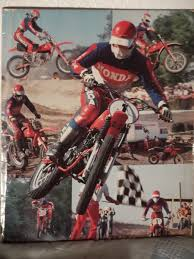 honda racing motocross marty smith honda mx poster google search motocross classic