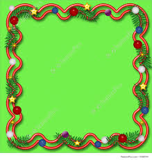 holiday christmas frame illustration