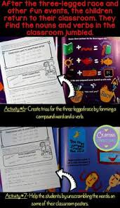 free language worksheets accompany the book nouns and verbs have a
