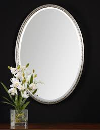 Oval Bathroom Mirrors Brushed Nickel Bathroom Design Luxuryoval Bathroom Mirrors Oval Bathroom