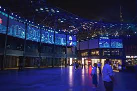 city walk dubai digital projection lights up shopping experience