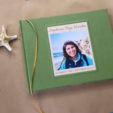 personalized funeral guest book custom memorial service guest book celebration of funeral