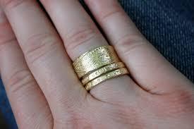 thick wedding bands wide 14k yellow gold wedding band bohemian paisley wedding