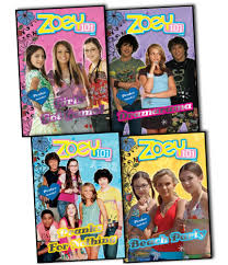4 x zoey 101 books dramarama pranks for nothing beach party