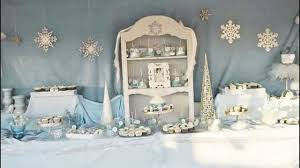 stunning winter wonderland party decorations ideas youtube