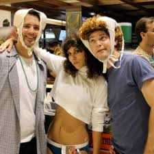 group costume ideas like totally 80s