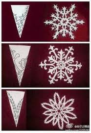 Snowflake Curtains Christmas I Love The Paper Snowflake Curtains That Are Proudly Displayed On