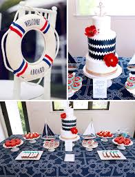 nautical theme baby shower nautical baby shower party planning ideas decor cake idea