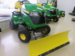 john deere x300 with snow blade john deere equipment pinterest