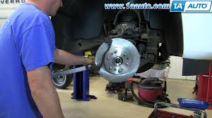 how to install replace do a front disc brake job 2007 13 chevy
