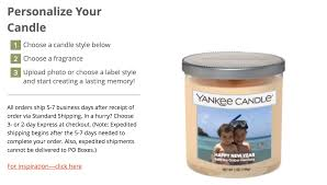 personalize candles omg you can personalize yankee candles now the luxury spot