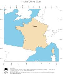 Europe Outline Map by Map France Ginkgomaps Continent Europe Region France