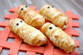 recette de cuisine facile et rapide pour le soir les petits fantômes surimi emmitouflés facile et rapide pour