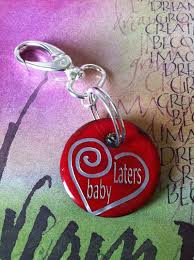laters baby keychain 153 best charming glass images on copper earrings